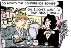 Sally Forth Conference Panel