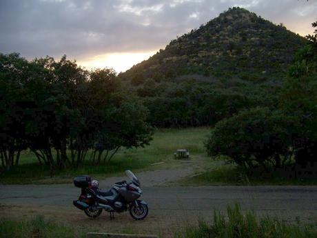 Moto-Camping:  Mesa Verde